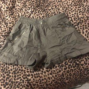 Pants - Green  Shorts